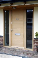 Replacement front door, Altrincham, Manchester, Cheshire