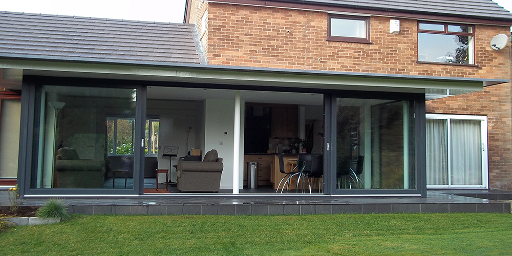 lift and slide doors, Altrincham, Manchester, Cheshire