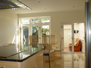 french doors, Altrincham, Manchester, Cheshire.