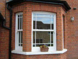 traditional sash windows, Altrincham, Manchester, Cheshire.