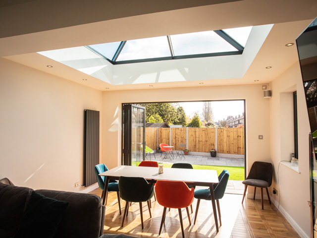 Bi folding doors, Altrincham, Sale, Stockport, Cheshire